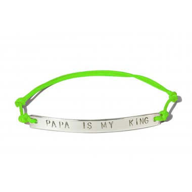 Bracelet Papa is my king